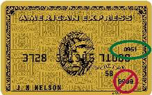 CVC2 Code for American Express